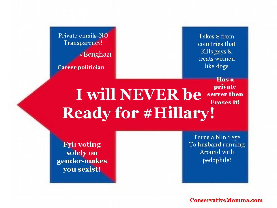 Not ready for Hillary