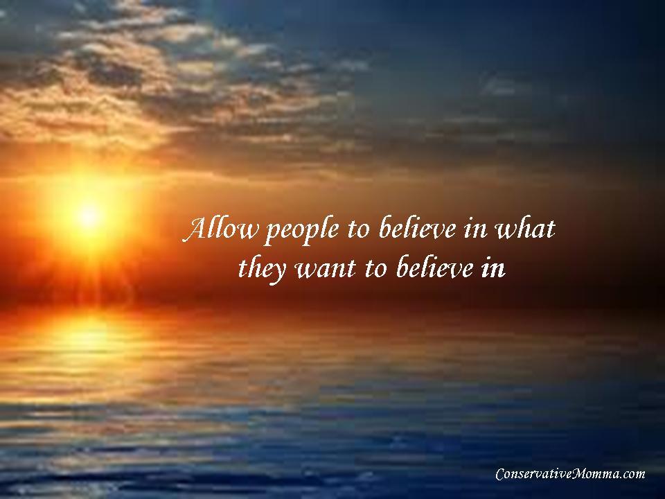 Be free believe