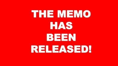 Memo Released