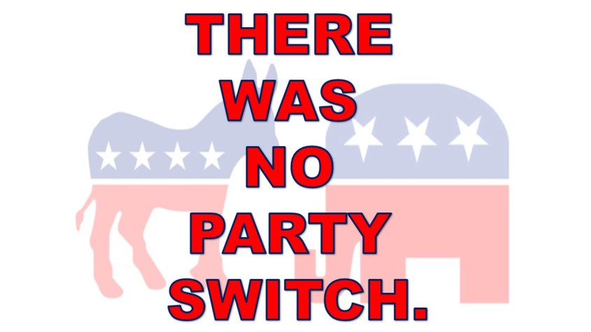 NO PARTY SWITCH